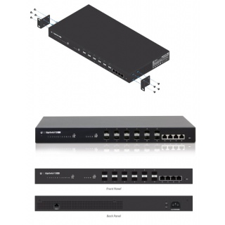 EdgeSwitch Fiber 12F (ES-12F) EdgeSwitch Managed Gigabit Fiber 12 SFP Ports