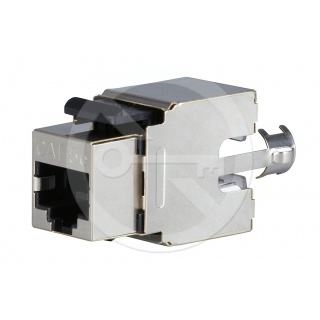 KJS458-C5E CAT5E Shielded Keystone Jack, Universal Wiring T568A/B