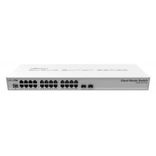 MikroTik Cloud Router Switch CRS326-24G-2S+RM (dual boot)